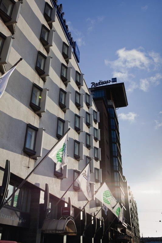 Radisson Blu Seaside Hotel, Helsinki Vista exterior