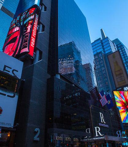 Renaissance New York Times Square Hotel Außenansicht