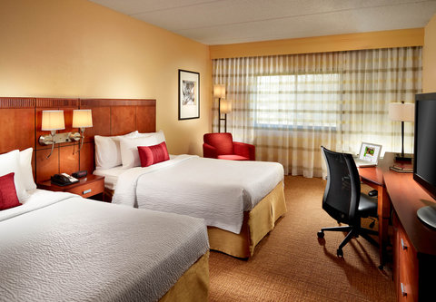 Courtyard by Marriott - Atlanta Executive Park/Emory - Double Double Guest Room