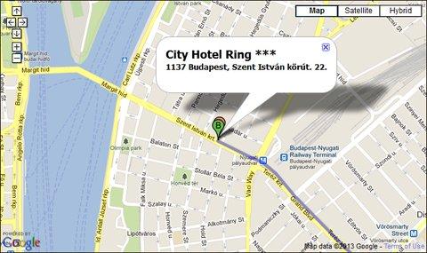 City Hotel Ring - City Hotel Ring Location