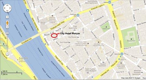 City Hotel Matyas - Matyas Location