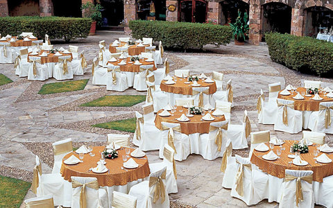 Quinta Real Zacatecas - Wedding Setup