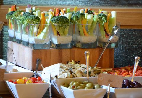Cincinnati Kingsgate Conference Center Hotel - Display Station   Vegetable Crudite
