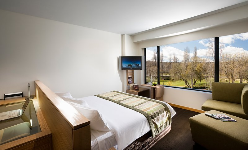 Crowne Plaza Hotel Canberra Vista do quarto