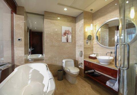 Beijing Marriott Hotel Northeast - Deluxe Guest Bathroom