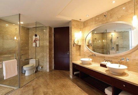 Beijing Marriott Hotel Northeast - Executive Suite Bathroom