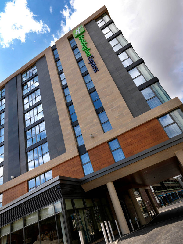 Holiday Inn Express Sheffield City Centre Vista esterna