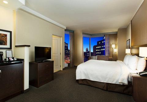 Courtyard Downtown Marriott - King Guest Room