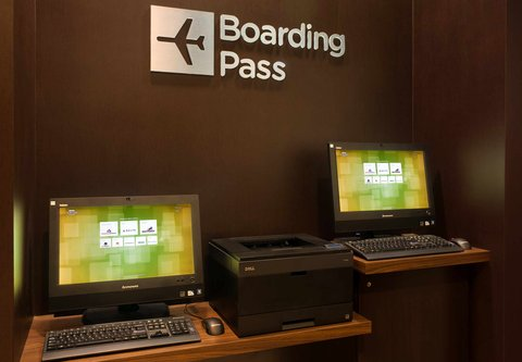 Courtyard By Marriott Downtown Baltimore Hotel - Boarding Pass Station