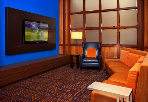 Courtyard By Marriott Downtown Baltimore Hotel - Lobby Home Theatre