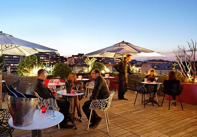 Courtyard Paris Boulogne Bar/Lounge