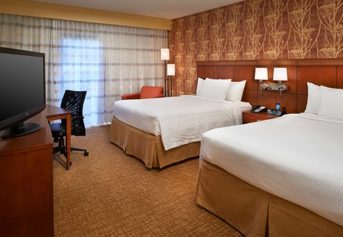 哥伦布沃辛顿万怡酒店 - Queen Queen Guest Room