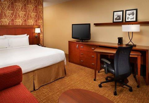 哥伦布沃辛顿万怡酒店 - King Guest Room