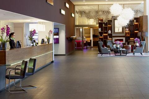 Moevenpick Hotel Amsterdam City Centre - Lobby overview