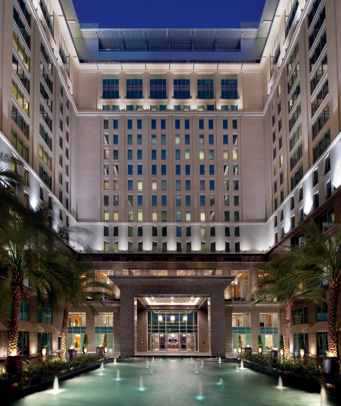 The Ritz-Carlton Dubai, International Financial Centre Widok z zewnątrz