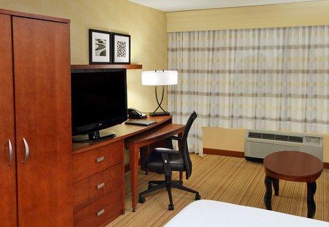 Courtyard by Marriott Rockaway Mount Arlington - Guest Room Work Desk
