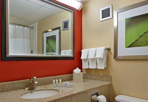 Courtyard by Marriott Rockaway Mount Arlington - Guest Bathroom