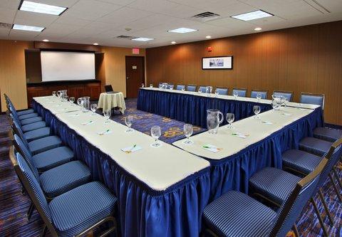 Courtyard by Marriott Rockaway Mount Arlington - Meeting Room   U Shape