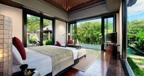 بانيان تري أونغاسان - Pool Villa Garden View Master Bedroom