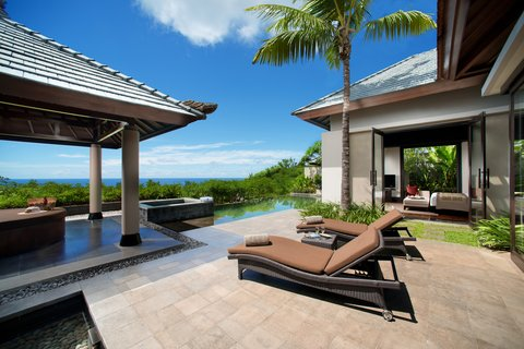 بانيان تري أونغاسان - Pool Villa Sea View Pool