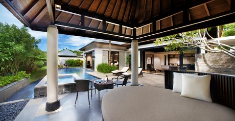 بانيان تري أونغاسان - Pool Viila Garden View Pool