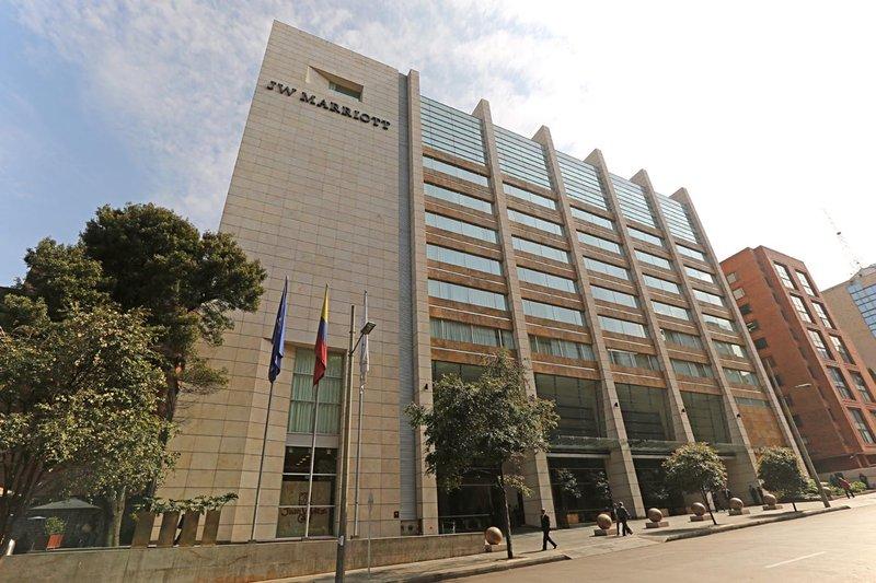 JW Marriott Hotel Bogota Set udefra