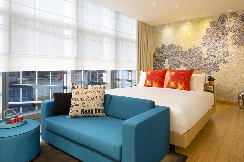 Hotel Indigo Hong Kong Island View of room