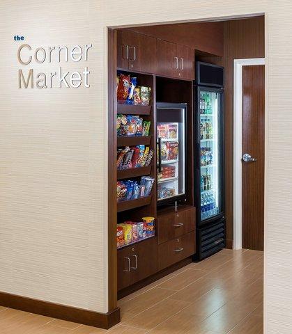 Fairfield Inn & Suites Dallas Park Central - The Corner Market