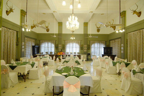 Laxmi Niwas Palace Historic Hotels Worldwide - Restaurant Laxmi Niwas Palace Bikaner Hotel