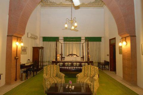 Laxmi Niwas Palace Historic Hotels Worldwide - Royal Deluxe Room Laxmi Niwas Palace Bikaner Hotel