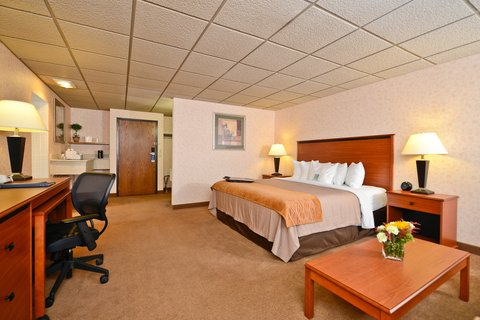Comfort Inn Butte - Whirlpool King Suite