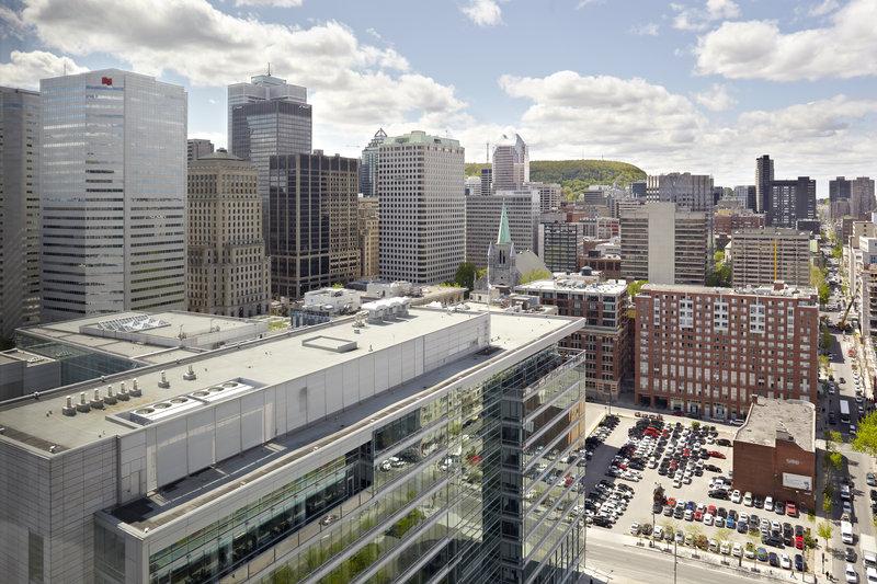 InterContinental Montreal Widok pokoju