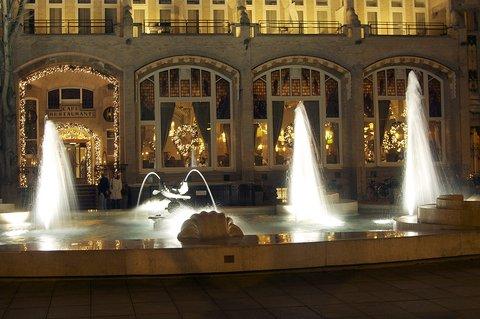 Amsterdam American Hotel - Hampshire Eden - Fountain