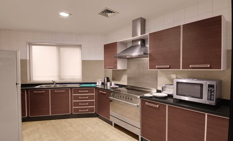 Lotus Grand Hotel Apartments - Kitchen