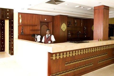 Azalai Hotel Independance - Reception Area