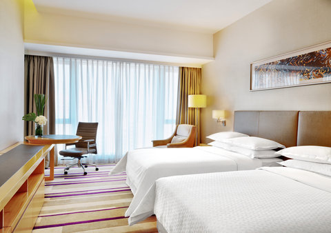 Four Points by Sheraton Dongpu - Comfort Room with Twin Beds
