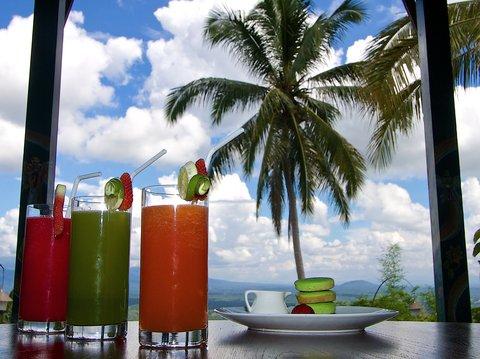 Villa Borobudur - Fresh Juices