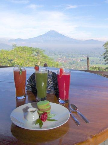 Villa Borobudur - Breakfast