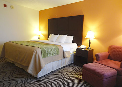 Comfort Inn Downtown Near Lake Coeur D'Alene - King Bed