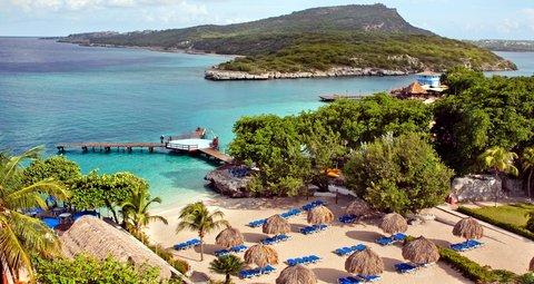 Curacao Hilton Hotel - Aerial view