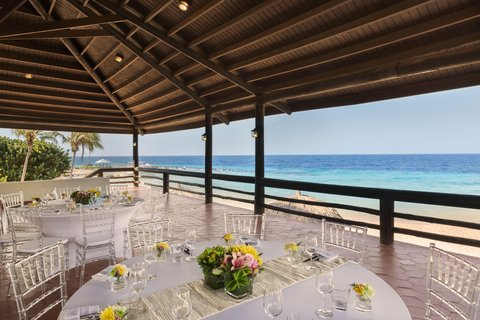 Curacao Hilton Hotel - Meetings in the Pavilion