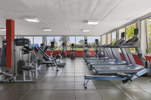 Curacao Hilton Hotel - Fitness Center