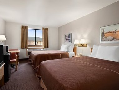 Elko NV Travelodge Hotel - Two Queen Room