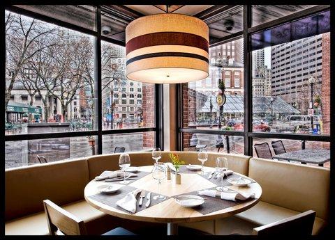 Millennium Bostonian Hotel Boston - North 26  Corner Table