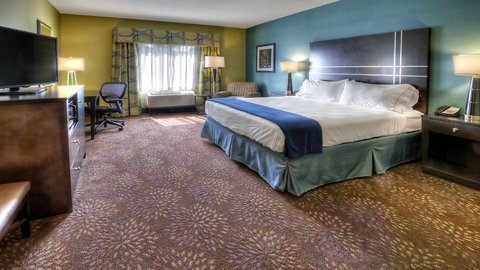 Holiday Inn Express & Suites PITTSBURGH SW - SOUTHPOINTE - King Bed Guest Room