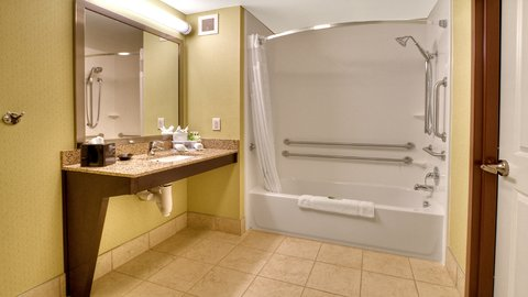 Holiday Inn Express & Suites PITTSBURGH SW - SOUTHPOINTE - Accessible Guest Bathroom