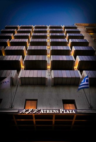 NJV Athens Plaza (Preferred Hotels and Resorts) - Exterior