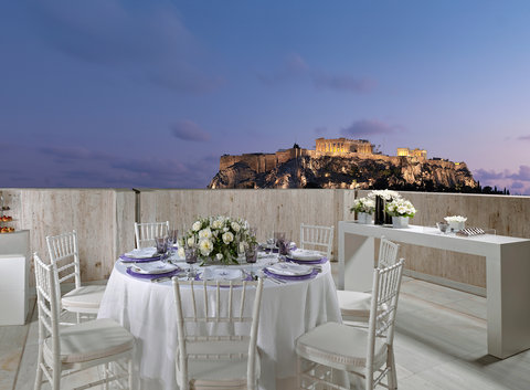 NJV Athens Plaza (Preferred Hotels and Resorts) - Terrace