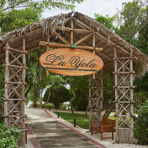 Tortuga Bay Hotel - Entrance La Yola Restaurant