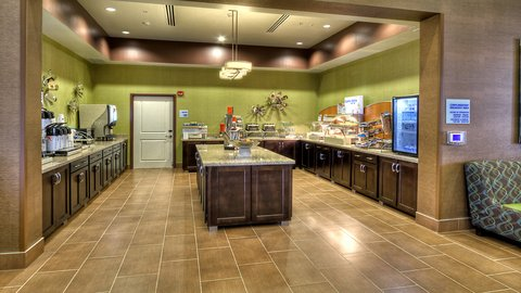 Holiday Inn Express & Suites PITTSBURGH SW - SOUTHPOINTE - Breakfast Bar